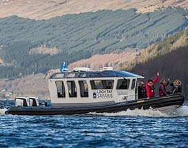 schotland-loch-tay-boot-safari