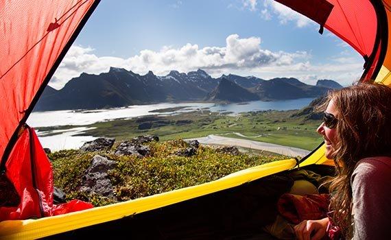 kamperen Noord-Noorwegen en Lapland