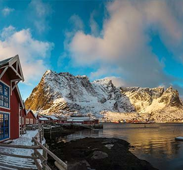 lofoten winter