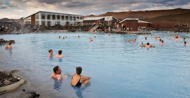 Myvatn Nature Baths in IJsland