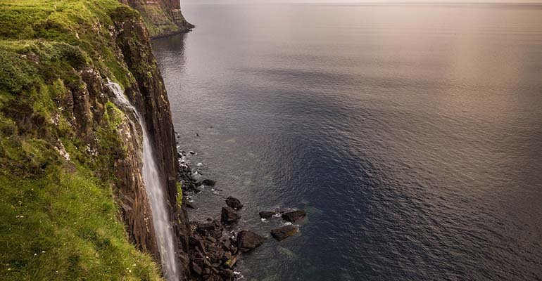 Isle of Skye Schotland waterval