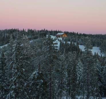 Dalarna in de winter